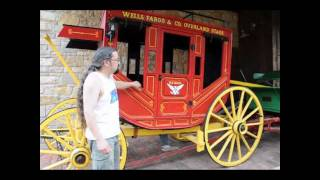 Old West Stage Coach Wells Fargo US Mail