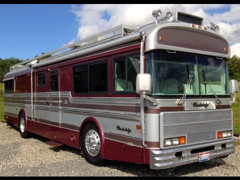 Bus car company silver eagle rv bus with slideout f Silver eagle motor coach