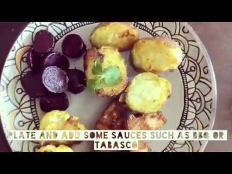 Roast Potatoes and Chicken Tenders video recipe