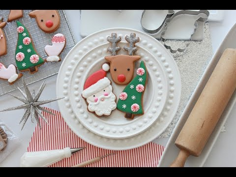 Get How to Decorate Simple Christmas Cookies with Royal Icing Pictures