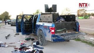 Suman 23 muertos por balaceras en Villa Unión