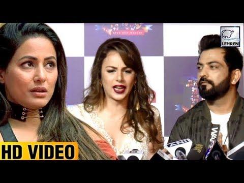 Manu Punjabi & Nitibha Kaul LASHES At Hina Khan   Bigg Boss 11
