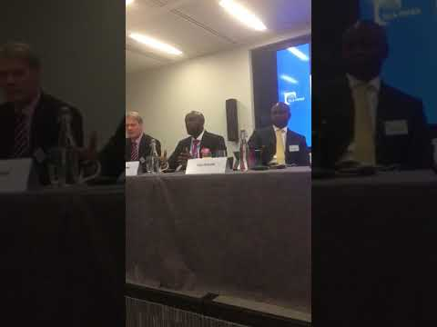 Dayo Idowu OOLLP Partner at Oil and Gas panel 4 Africa Week in London  Marginal fields