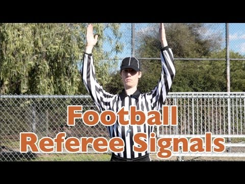 Football Referee Signals