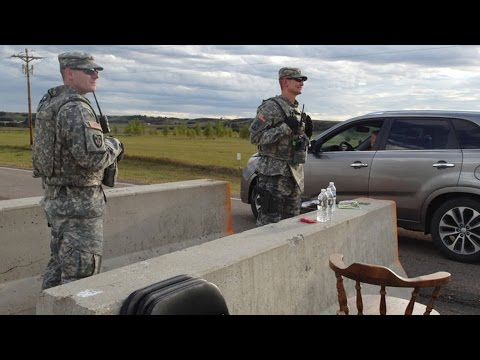 National Guard on Standby in North Dakota Before Court Ruling on Dakota Access Pipeline