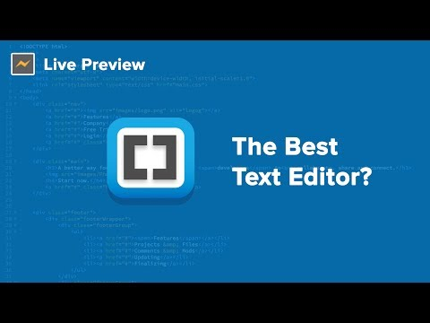 My Favorite Text Editor - Brackets