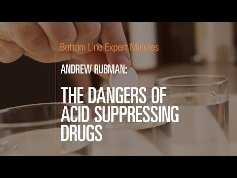 The Dangers of Acid Suppressing Drugs