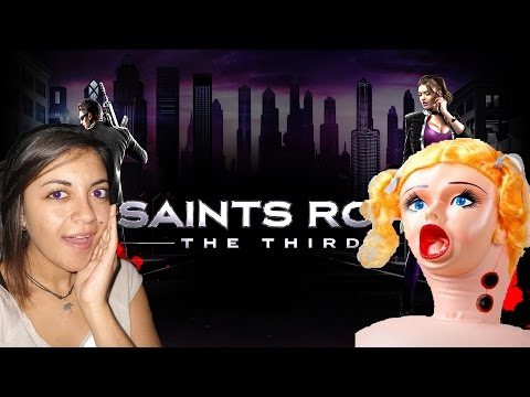 MUÑECAS INFLABLES OP | Saints Row : THE THIRD | COOPERATIVO ANI Y LOBO EP4