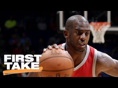 Stephen A. Smith explains why Chris Paul has to be a 'superstar' this season   First Take   ESPN