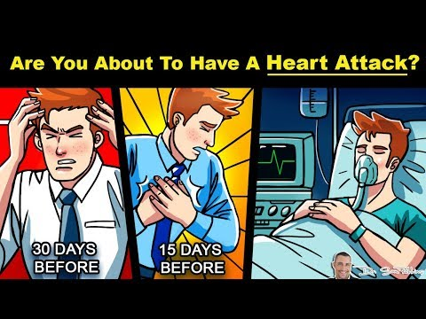 💓Are You About to Have A Heart Attack? - 30 Day Warning Signs