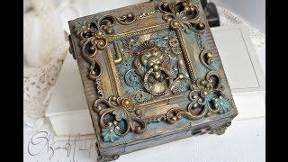 Steampunk Lion Box -