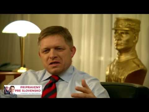Slovenské prezidentské volby 2014   Robert Fico hovoří o svém dětství a vztahu ke katolicismu