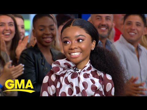 Former Disney Channel star Skai Jackson talks about new book | GMA
