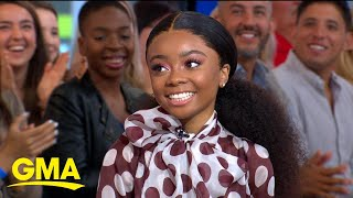 Gambar cover Former Disney Channel star Skai Jackson talks about new book | GMA
