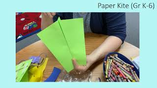 Paper Kite:  A Make-it Video with Manor Public Library