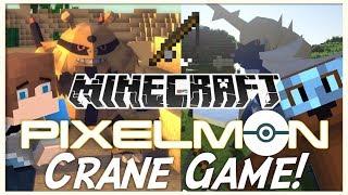 """Minecraft Pixelmon - """"CRANE GAME"""" - Pixelmon Minigame - (Minecraft Pokemon Mod)"""
