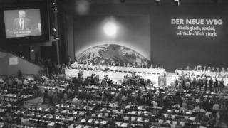 Redeausschnitte Willy Brandts auf dem Vereinigungsparteitag der SPD-West- und -Ost (07.09.1990)