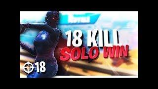 18 KILL GAME! SEASON 8 FOCUSED MODE 😤