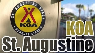 KOA Campground St Augustine Beach Florida: R-Pod 182G