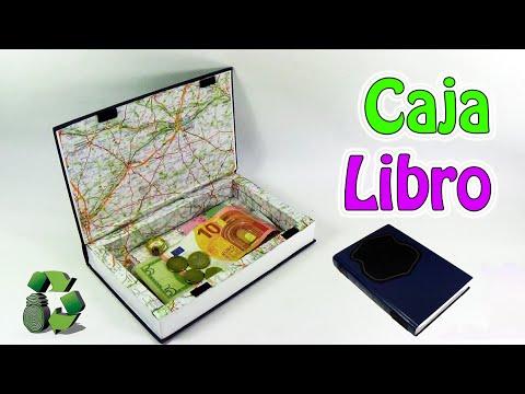 Como hacer una caja libro reciclaje ecobrisa youtube - Como hacer un libro antiguo ...