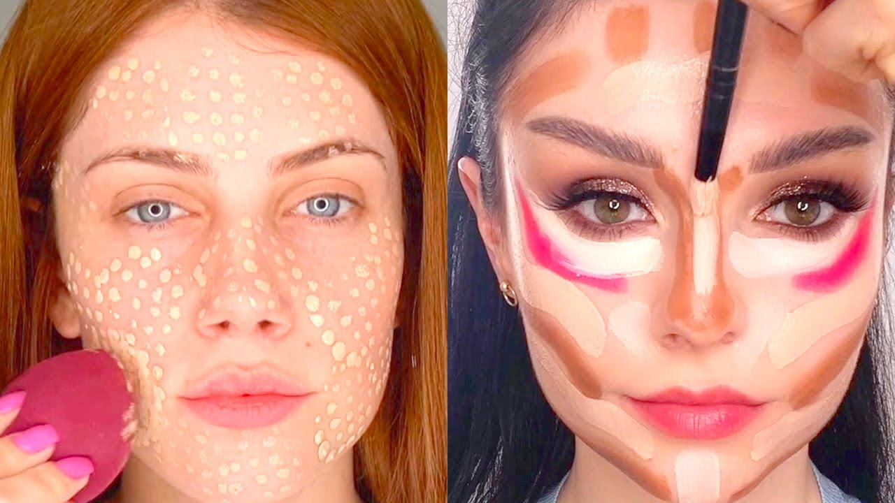 How to Contour for Your Face Shape: 18 Amazing Makeup Tutorials | Compilation Plus