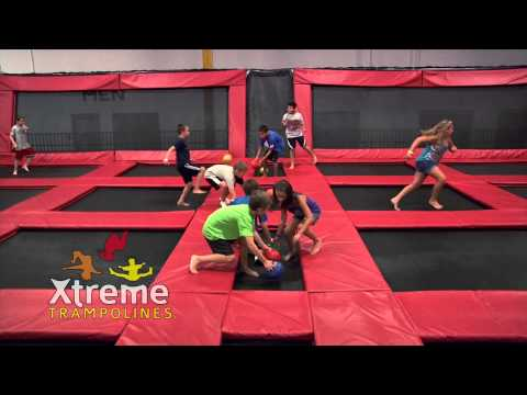 Xtreme Trampolines Teens-Kids BBall Combo