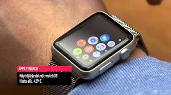 Testissä älykellot: Apple Watch vs. Samsung Gear S2  (Teknavi 2015)