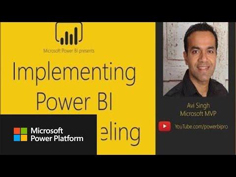 Implementing Power BI Data Modeling with Avi Singh