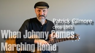 When Johnny Comes Marching Home - Guitar Lesson