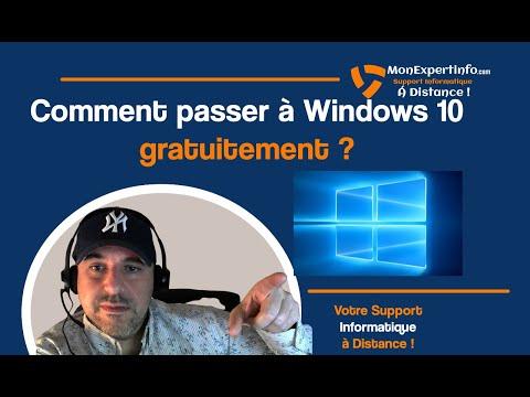 Comment passer à Windows 10 de plusieurs façon gratuitement ?