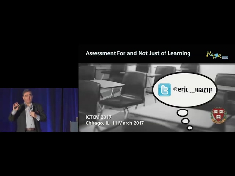 Assessment For and Not Just Of Learning