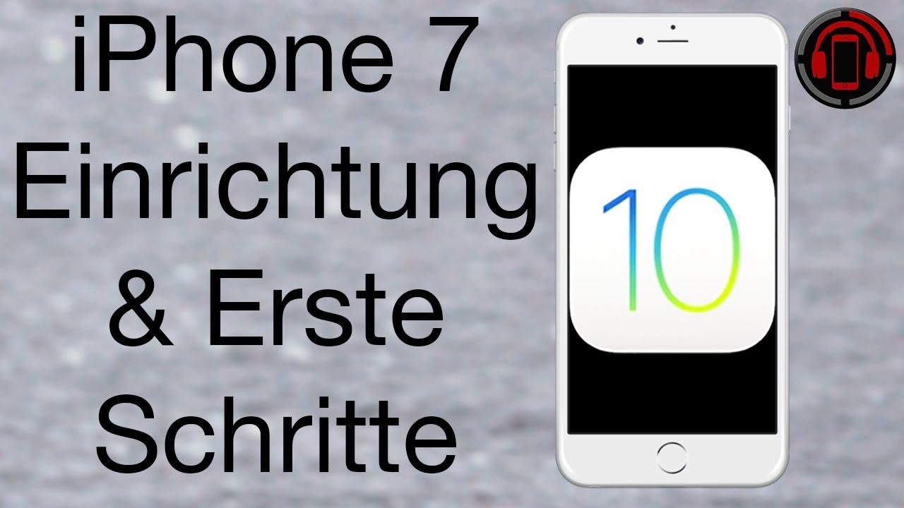 iPhone 9 einrichten unter iOS 9 [Deutsch/German]