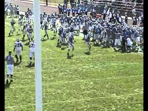 Iowa Western Football 2010 - Andrew Brown SS #5
