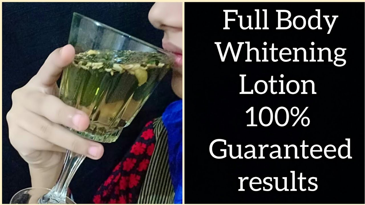 100% Result Full Body Whitening Drink With Simple Ingredients