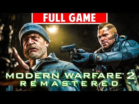 MODERN WARFARE 2 REMASTERED FULL Campaign Gameplay Walkthrough - ALL MISSIONS (No Commentary)