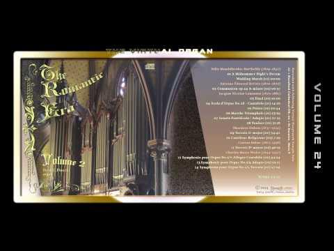 THE ROMANTIC ERA 02 - Fred G. Pisecki, various organ Sample sets