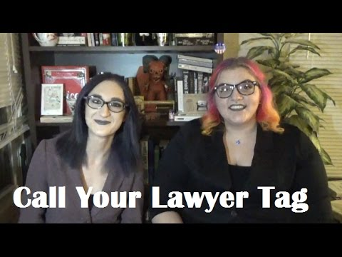 Call Your Lawyer Book Tag