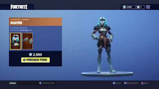 NEW VALKYRIE SKIN! (FEMALE RAGNAROK) | DAILY ITEM SHOP TODAY! | FORTNITE BATTLE ROYALE (21/9/2018)