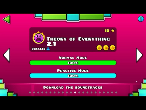 THEORY OF EVERYTHING 2.1 VER | Geometry Dash 2.1 : Toe 2017 - GD Jose