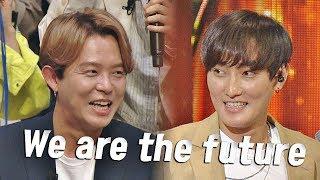 [미공개] 토니안(Tony An)x강타(KANGTA)의 녹슬지 않은 댄스 'We are the future'♪ 히든싱어5(hidden singer5) 1회