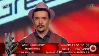 The Voice of Greece | ΑΛΕΞ ΟΙΚΟΝΟΜΟΥ - ΚΡΥΦΑ - ΜΙΧΑΛΗΣ ΧΑΤΖΗΓΙΑΝΝΗΣ | 1st Live Show (S01E13)