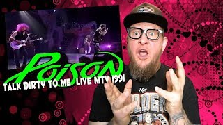 """Baixar Reaction to POISON """"Talk Dirty To Me""""  LIVE 1991 Mtv Music Awards"""