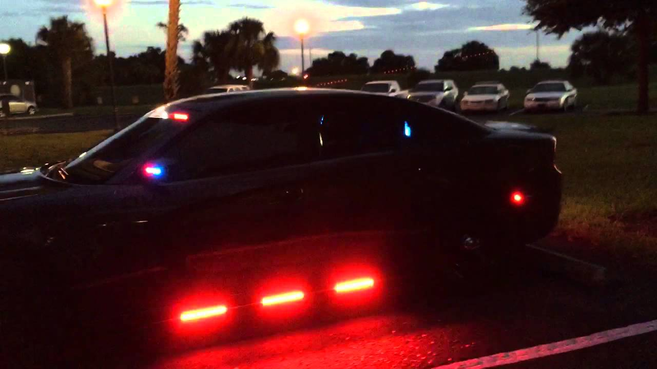 2015 Dodge Charger Police Car Led Police Lights Outfitted