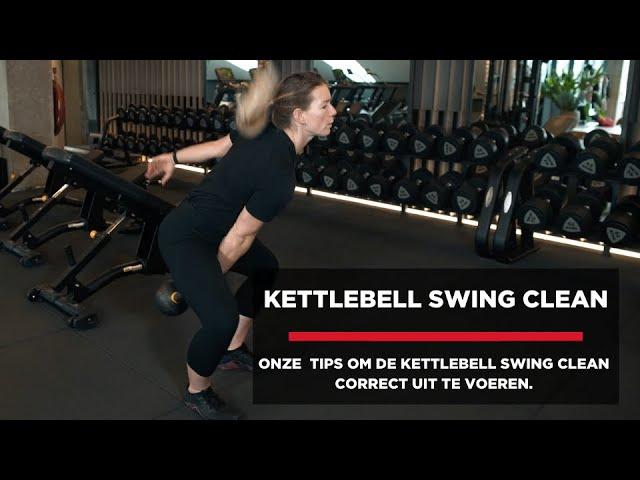 Kettlebell swing clean