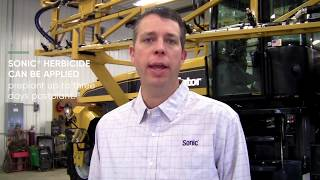 What sets Sonic herbicide apart from other soybean herbicides?