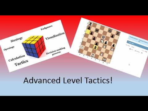 Advanced Level (1800-2300) Chess Tactics and Explanations!