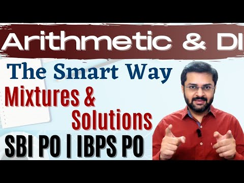 Mixture, Solution | SBI PO 2017 Online Classes #DAY 30
