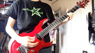 X 「紅 kurenai」 guitar
