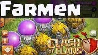 Clash of Clans-Farmen in Kristall-Liga drei (Lets play coc Deutsch) #32