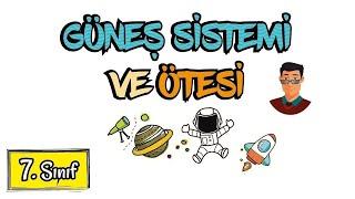 """Güneş Sistemi ve Ötesi / 7.Sınıf  """"Güncel"""""""
